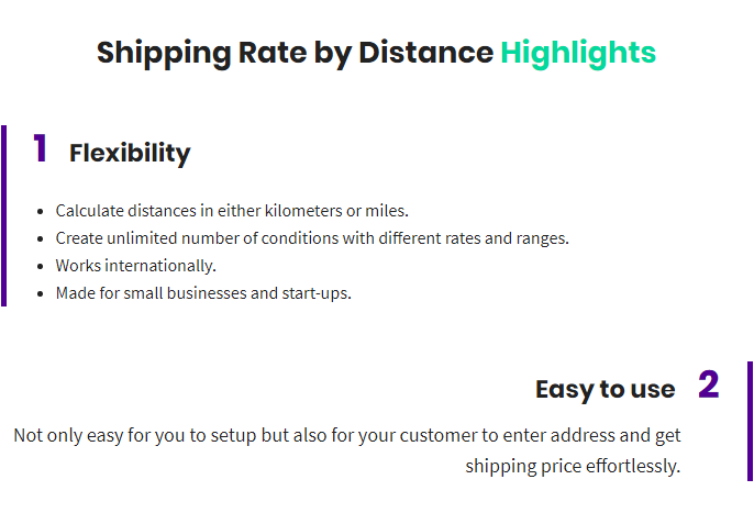 Shipping Rate by Distance for WooCommerce - 1